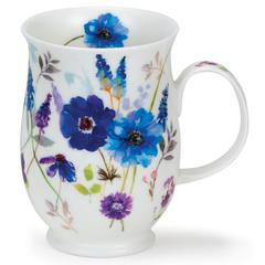 Šalica Dunoon Suffolk, floral harmony blue, porculan 0,31l
