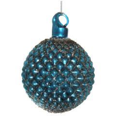 Kuglice Božić, plava, 6cm, set od 6 kuglica