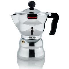 Kuhalo za espresso Alessi Moka 6 šalica, lijevani aluminij 20,6x10,4cm