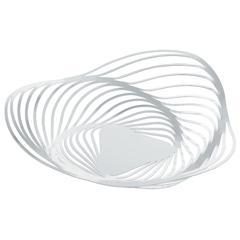 Zdjela Alessi Trinity, čelična, epoksi premaz, 33x8cm, bijela