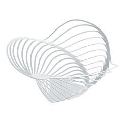 Zdjela Alessi Trinity, čelična, epoksi premaz, 26x12cm, bijela