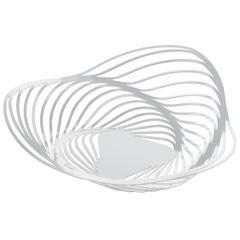 Zdjela Alessi Trinity, čelična, epoksi premaz, 26x7cm, bijela