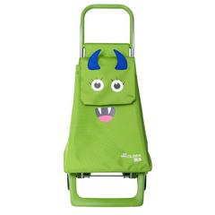 Kolica Rolser Monster Kid MFJoy2 Lime, zelena