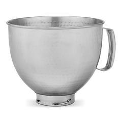 Zdjela metalna 4,8l KitchenAid, inox- tuckani izgled NOVO!
