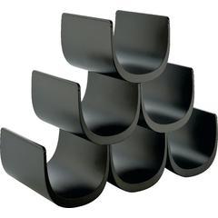 Stalak za vino modularni Alessi Noe, termoplastika 15,5x34,5x30cm, crna