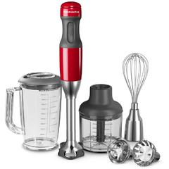 Štapni mikser KitchenAid, empire red