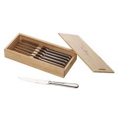 Set noževa za pizzu ili steak Villeroy & Boch Oscar, 6 komada u drvenoj kutiji 28x113x5cm
