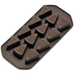 "Kalup za praline ""torta"" Kaiser, silikon, za 150g čokolade"