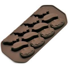 "Kalup za praline ""list"" Kaiser, silikon, za 150g čokolade"