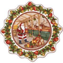 Pladanj okrugli Božić, Villeroy & Boch Toys Fantasy, Stable , 42cm, poklon pakiranje
