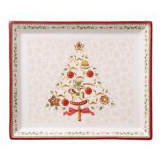Pladanj Božić, Villeroy & Boch Winter Bakery Delight 27x22,5cm, poklon pakiranje