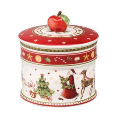 Doza za kolače Božić, Villeroy & Boch Winter Bakery Delight  12x11cm, poklon pakiranje