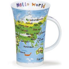 Šalica Dunoon Glencoe, hello world, porculan 0,5l