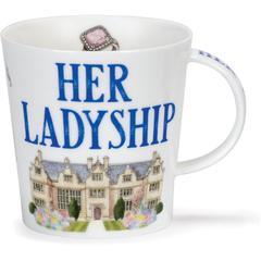 Šalica Dunoon Cairngorm, her ladyship, porculan 0,48l
