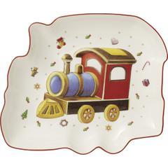 Zdjela vlakić Božić, Villeroy & Boch Toys Delight 16x16cm