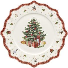 Pladanj buffet Božić, Villeroy & Boch Toys Delight bijeli 35cm