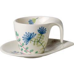 Šalica za espresso s tanjurićem Villeroy & Boch Flow Couture 0,10l