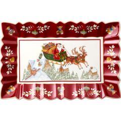 Pladanj pravokutni Božić, Villeroy & Boch Toys Fantasy, 35X22,5cm, poklon pakiranje