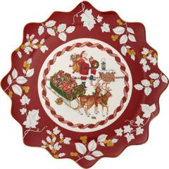 Pladanj okrugli Božić, Villeroy & Boch Toys Fantasy, 42cm, poklon pakiranje