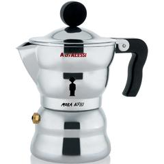 Kuhalo za espresso Alessi Moka 1 šalica, lijevani aluminij 13,8x7cm