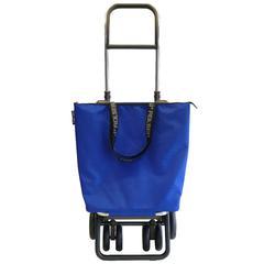 Kolica za kupovinu Rolser Mini Bag Plus MF Logic Tour (4 kotača), preklopna, plava
