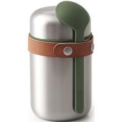Posuda za hranu black+blum Food Flask, inox 400ml, maslinasto zelena