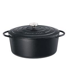 Pekač ovalni Küchenprofi PROVENCE, gus Ø40cm, crni