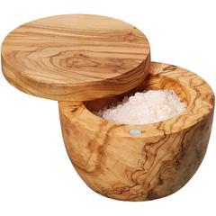 Posuda za sol Zassenhaus, maslinovo drvo Ø9,5 cm