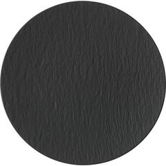 Tanjur Gourmet Villeroy & Boch Manufacture Rock, 32cm crni