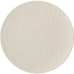 Tanjur Gourmet Villeroy & Boch Manufacture Rock Blanc, 31,5x31,5x2,5cm bijeli