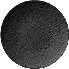 Tanjur Villeroy & Boch Manufacture Rock, 25cm crni