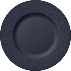 Desertni tanjur Villeroy & Boch Manufacture Rock, 22cm crni