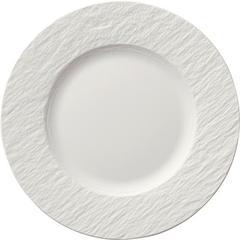 Desertni tanjur Villeroy & Boch Manufacture Rock Blanc, 22cm bijeli