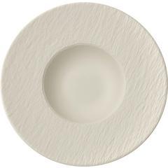Tanjur za tjesteninu Villeroy & Boch Manufacture Rock Blanc, 28x28x5cm bijeli
