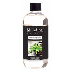 Refil za difuzor Millefiori natural, White mint & tonka 250 ml