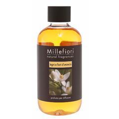 Refil za difuzor Millefiori natural, Legni e fiori d'arancio 250 ml