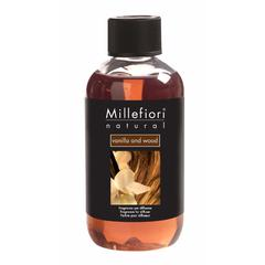 Refil za difuzor Millefiori natural, Vanilla & wood 250 ml