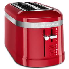 Toster KitchenAid Design s dva utora – 4 šnite, empire red