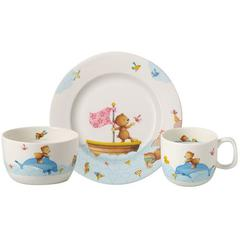 Baby set 3-djelni Villeroy&Boch Happy as a Bear, tanjur, šalica, zdjelica