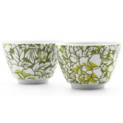 Šalice za čaj Yantai Bredemeijer, set 2/1 zelene