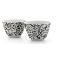 Šalice za čaj Yantai Bredemeijer, set 2/1 tamno smeđe