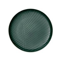 Tanjur plitki Villeroy & Boch It's my match ,list, bijelo/zeleni,24cm