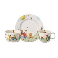 Baby set 3-djelni Villeroy&Boch Hungry as a Bear, tanjur, šalica, zdjelica