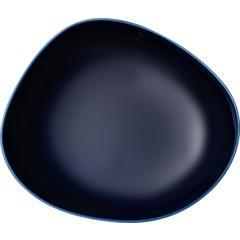 Duboki tanjur like.by Villeroy & Boch Organic dark blue, 20cm