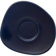 Tanjurić za kavu like.by Villeroy & Boch Organic dark blue, 17,5cm