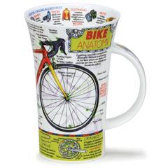 Šalica Dunoon Glencoe, bicikl/ Bike Anatomy, porculan 0,5l