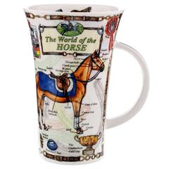Šalica Dunoon Glencoe, svijet konja/World of Horse, porculan 0,5l
