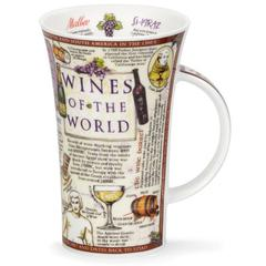 Šalica Dunoon Glencoe, Vino/Wines of the World, porculan 0,5l