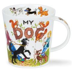 Šalica Dunoon Cairngorm, My Dog, porculan 0,48l